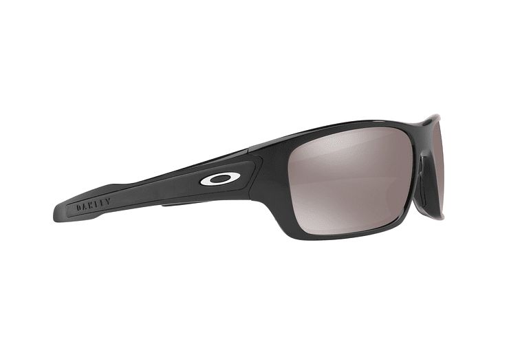 Oakley Turbine Polished Black lente Black Prizm y Polarized cod. OO9263-4163 - Image 10