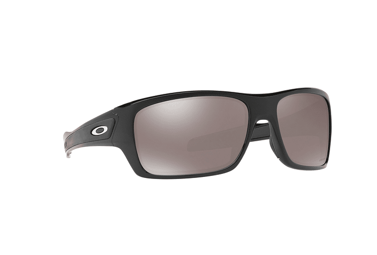 Oakley Turbine Polished Black lente Black Prizm y Polarized cod. OO9263-4163 - Image 11