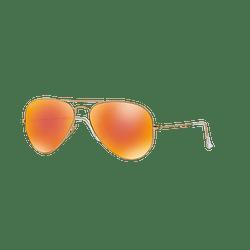 Ray Ban Aviador Matte Gold lente Crystal Mirror Orange cod. RB3025 112/69 58