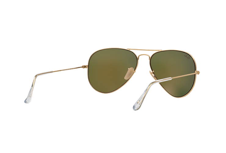 Ray Ban Aviador Matte Gold lente Crystal Mirror Orange cod. RB3025 112/69 58 - Image 7