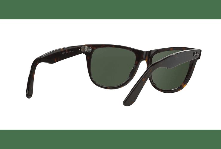Ray Ban Wayfarer Tortoise lente Crystal Green cod. RB2140 902 54 - Image 7