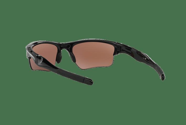 Oakley Half Jacket 2.0 XL Polished Black lente Positive Red Iridium Polarized Polarized cod. OO9154-2762 - Image 5