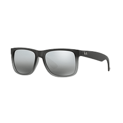 Ray Ban Justin Rubber grey lente Silver Mirror Gradient cod. RB4165 852/88 54