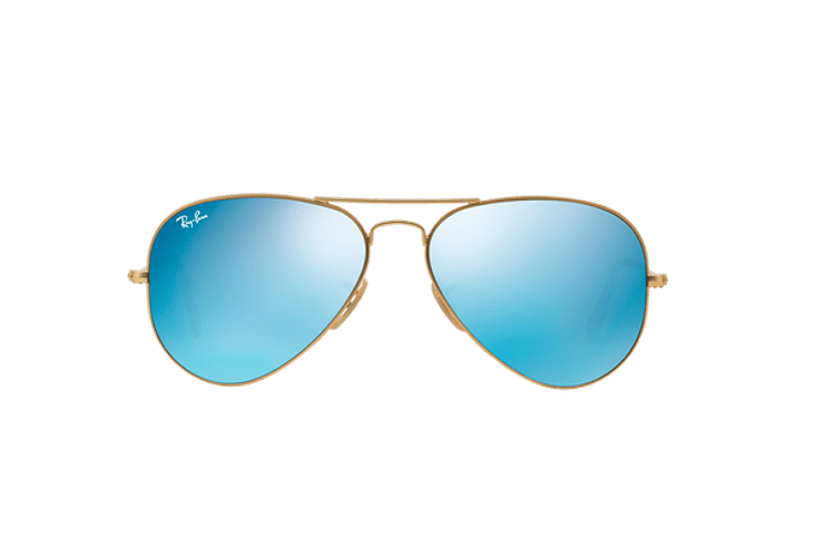 Ray Ban Aviador Matte Gold lente Blue Flash cod. RB3025 112/17 58 - Image 12