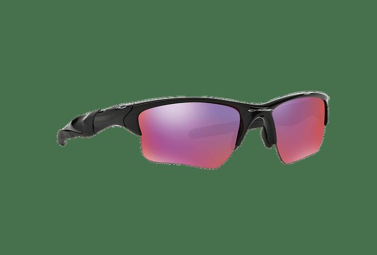 Oakley Half Jacket 2.0 XL Polished Black lente Positive Red Iridium Polarized Polarized cod. OO9154-2762 - Image 11