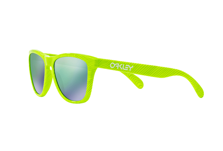 Oakley Frogskins Ed. Especial Fingerprint Retina Burn lente Jade Iridium cod. OO9013-5455 - Image 2
