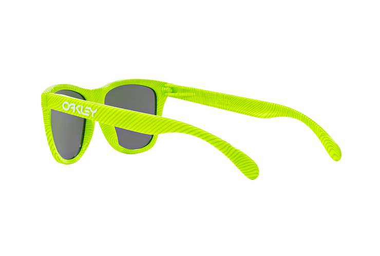 Oakley Frogskins Ed. Especial Fingerprint Retina Burn lente Jade Iridium cod. OO9013-5455 - Image 4