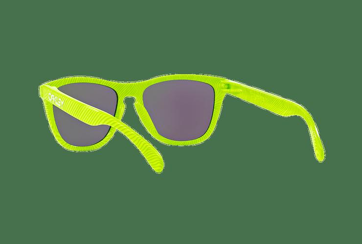 Oakley Frogskins Ed. Especial Fingerprint Retina Burn lente Jade Iridium cod. OO9013-5455 - Image 5