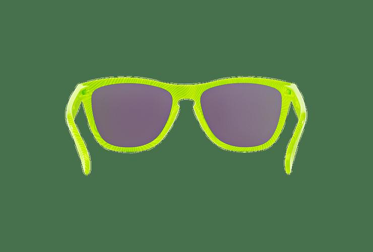 Oakley Frogskins Ed. Especial Fingerprint Retina Burn lente Jade Iridium cod. OO9013-5455 - Image 6