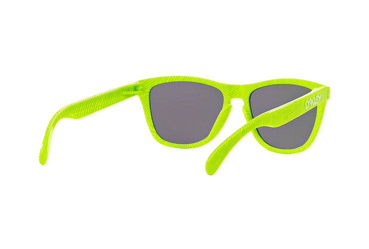 Oakley Frogskins Ed. Especial Fingerprint Retina Burn lente Jade Iridium cod. OO9013-5455 - Image 7