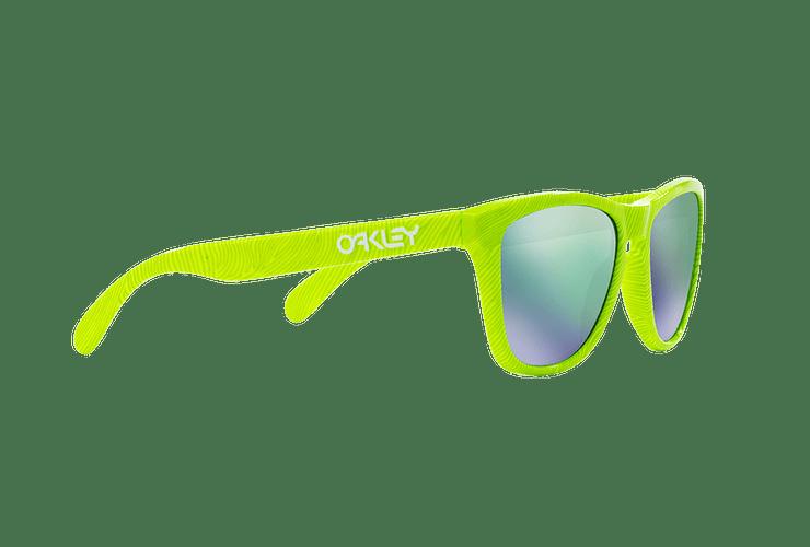 Oakley Frogskins Ed. Especial Fingerprint Retina Burn lente Jade Iridium cod. OO9013-5455 - Image 10