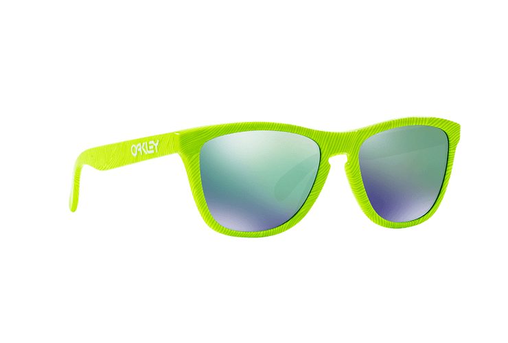 Oakley Frogskins Ed. Especial Fingerprint Retina Burn lente Jade Iridium cod. OO9013-5455 - Image 11