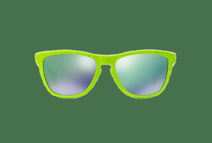 Oakley Frogskins Ed. Especial Fingerprint Retina Burn lente Jade Iridium cod. OO9013-5455 - Image 12