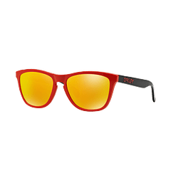 Oakley Frogskins Ed. Especial Heritage Red lente Fire Iridium cod. OO9013-3455