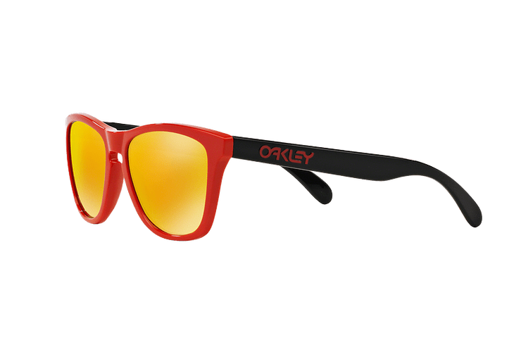 Oakley Frogskins Ed. Especial Heritage Red lente Fire Iridium cod. OO9013-3455 - Image 2