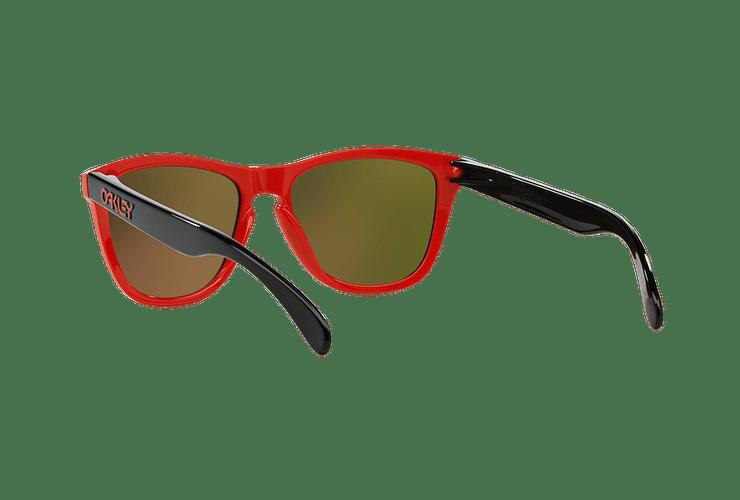 Oakley Frogskins Ed. Especial Heritage Red lente Fire Iridium cod. OO9013-3455 - Image 5