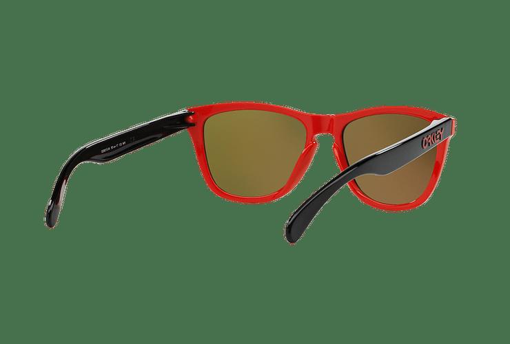 Oakley Frogskins Ed. Especial Heritage Red lente Fire Iridium cod. OO9013-3455 - Image 7