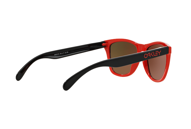 Oakley Frogskins Ed. Especial Heritage Red lente Fire Iridium cod. OO9013-3455 - Image 8