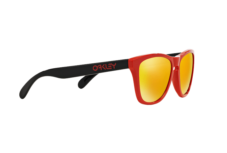Oakley Frogskins Ed. Especial Heritage Red lente Fire Iridium cod. OO9013-3455 - Image 10