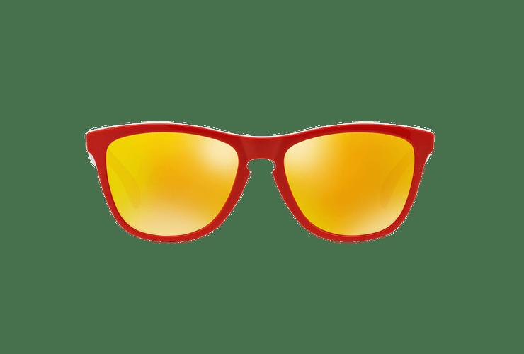 Oakley Frogskins Ed. Especial Heritage Red lente Fire Iridium cod. OO9013-3455 - Image 12