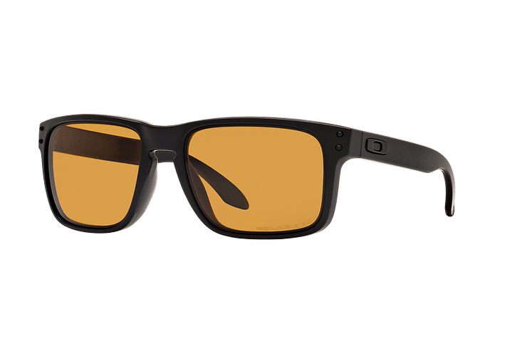Oakley Holbrook Matte Black lente Bronze Polarized cod. OO9102-9855 - Image 1