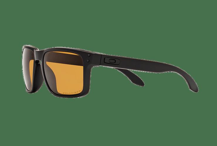 Oakley Holbrook Matte Black lente Bronze Polarized cod. OO9102-9855 - Image 2