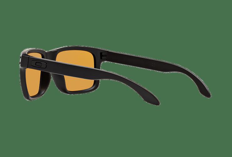 Oakley Holbrook Matte Black lente Bronze Polarized cod. OO9102-9855 - Image 4