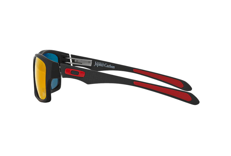 Oakley Jupiter Carbon Ed. Especial Ferrari Carbon lente Ruby Iridium Polarized cod. OO9220-06 - Image 3