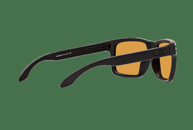 Oakley Holbrook Matte Black lente Bronze Polarized cod. OO9102-9855 - Image 8