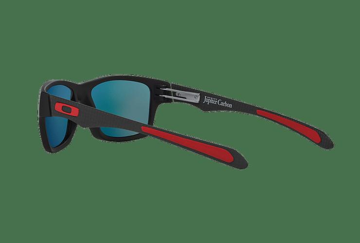 Oakley Jupiter Carbon Ed. Especial Ferrari Carbon lente Ruby Iridium Polarized cod. OO9220-06 - Image 4