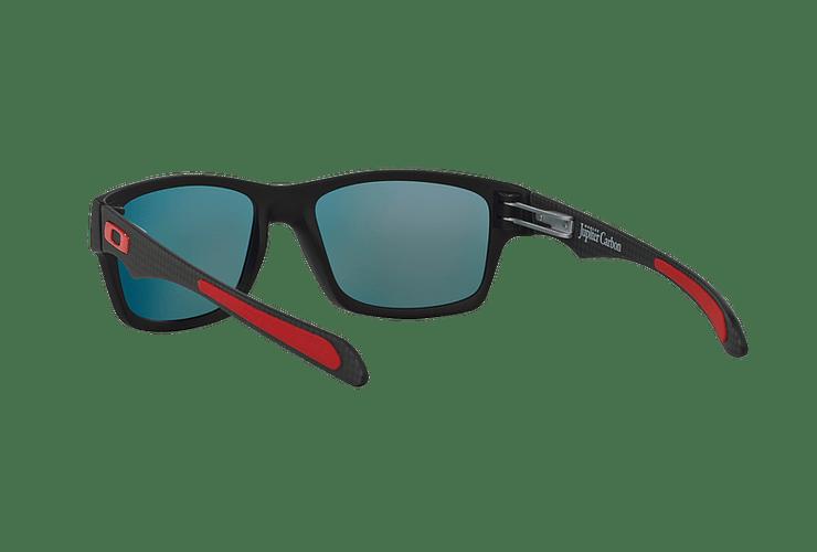 Oakley Jupiter Carbon Ed. Especial Ferrari Carbon lente Ruby Iridium Polarized cod. OO9220-06 - Image 5