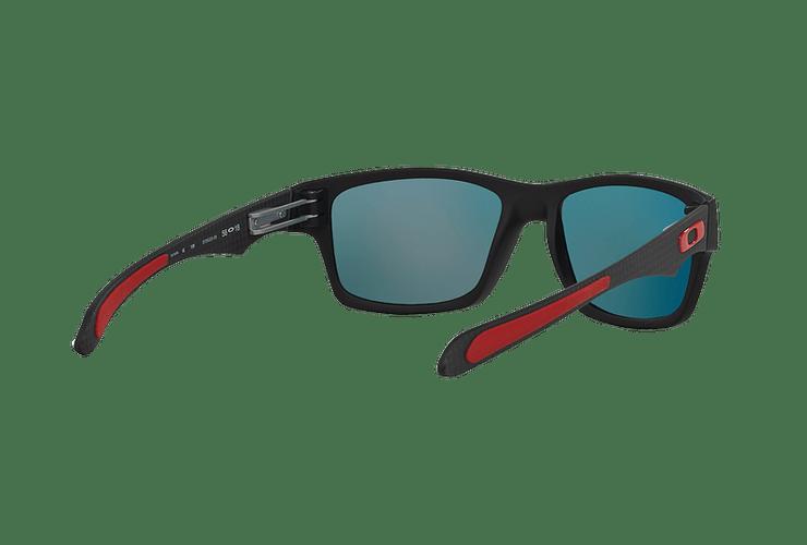 Oakley Jupiter Carbon Ed. Especial Ferrari Carbon lente Ruby Iridium Polarized cod. OO9220-06 - Image 7