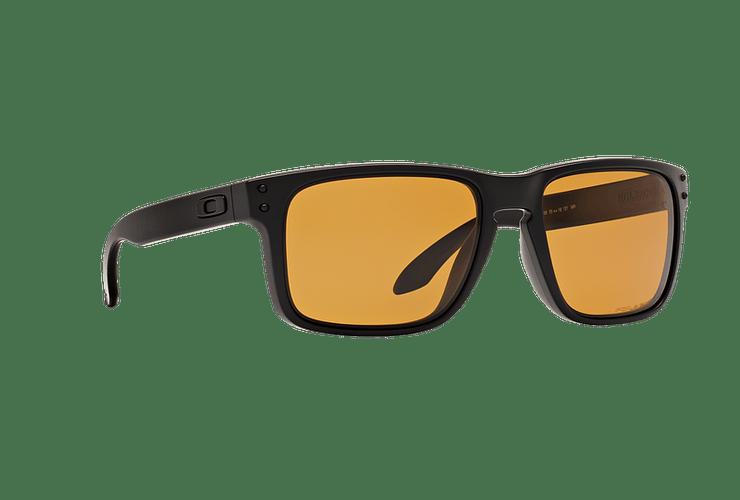 Oakley Holbrook Matte Black lente Bronze Polarized cod. OO9102-9855 - Image 11
