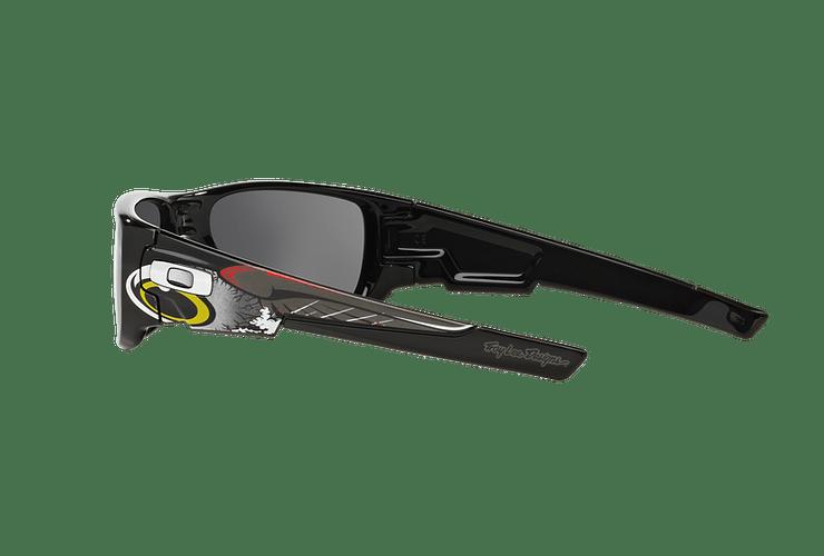 Oakley Crankshaft Ed. Especial Troy Lee Polished Black lente Black Iridium cod. OO9239-1860 - Image 4