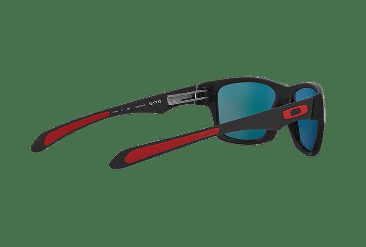 Oakley Jupiter Carbon Ed. Especial Ferrari Carbon lente Ruby Iridium Polarized cod. OO9220-06 - Image 8