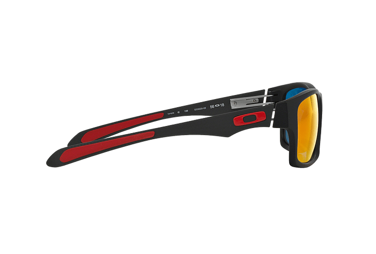 Oakley Jupiter Carbon Ed. Especial Ferrari Carbon lente Ruby Iridium Polarized cod. OO9220-06 - Image 9