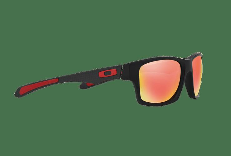 Oakley Jupiter Carbon Ed. Especial Ferrari Carbon lente Ruby Iridium Polarized cod. OO9220-06 - Image 10