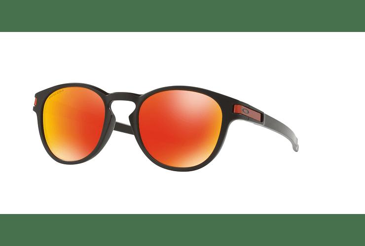 Oakley Latch Matte Black lente Ruby PRIZM cod. OO9265-2953 - Image 1