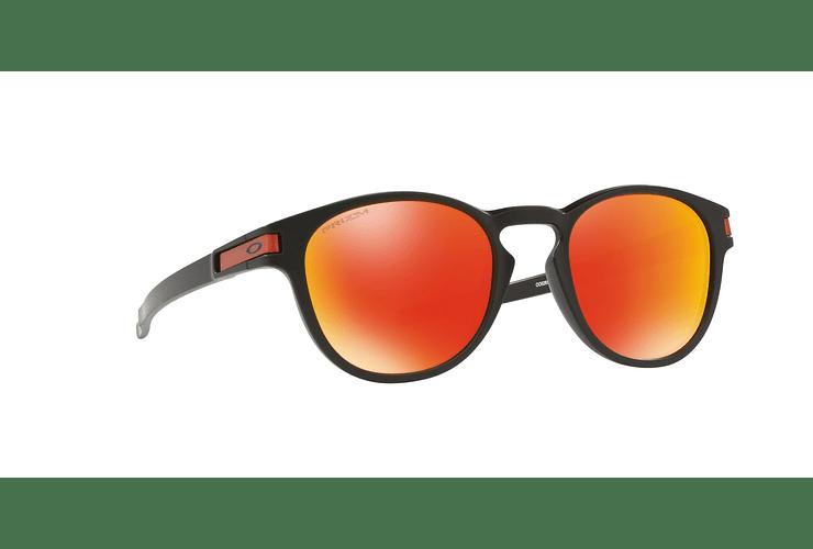 Oakley Latch Matte Black lente Ruby PRIZM cod. OO9265-2953 - Image 11