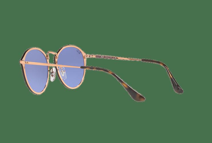Ray Ban Blaze Round Copper lente Blue / Silver Mirror cod. RB3574N 90351U 59 - Image 4