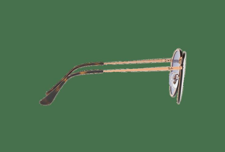Ray Ban Blaze Round Copper lente Blue / Silver Mirror cod. RB3574N 90351U 59 - Image 9