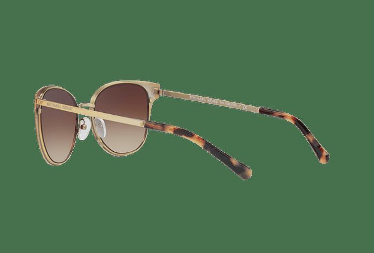 Michael Kors Tia Brown gradient pale gold lente Smoke gradient cod. MK1022 118213 54 - Image 4