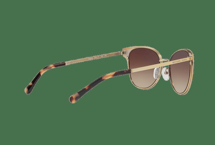 Michael Kors Tia Brown gradient pale gold lente Smoke gradient cod. MK1022 118213 54 - Image 8