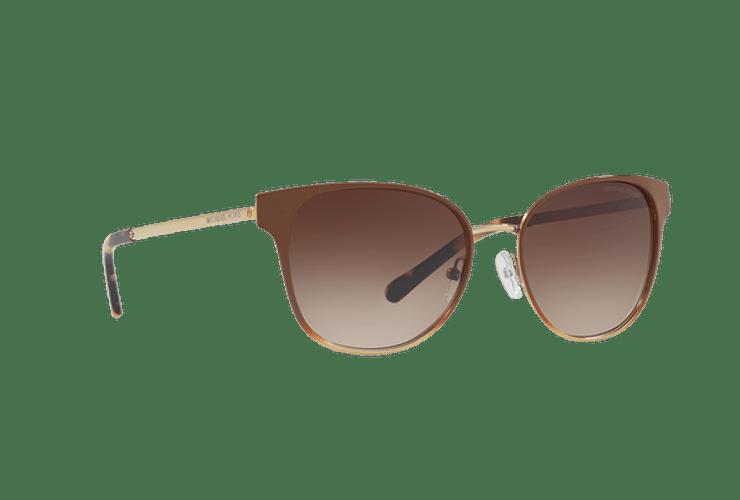 Michael Kors Tia Brown gradient pale gold lente Smoke gradient cod. MK1022 118213 54 - Image 11