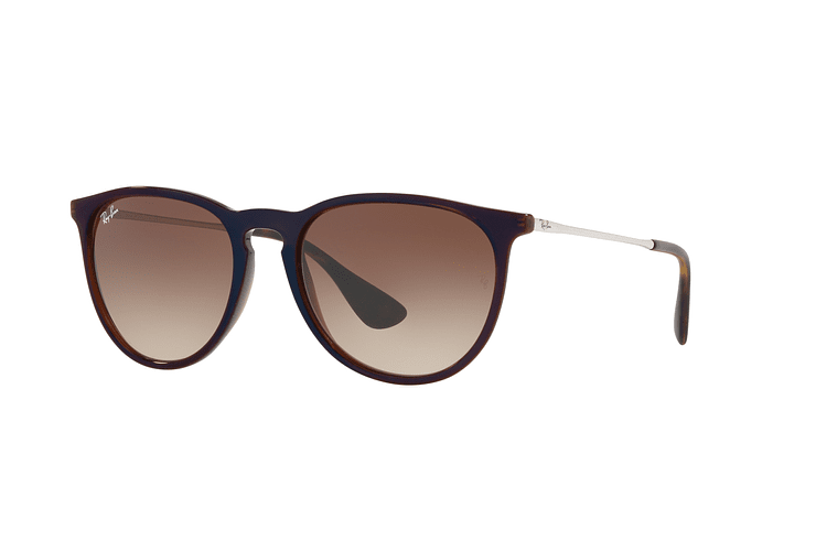 Ray Ban Erika Brown / blue lente Dark Brown Gradient cod. RB4171 631513 54 - Image 1