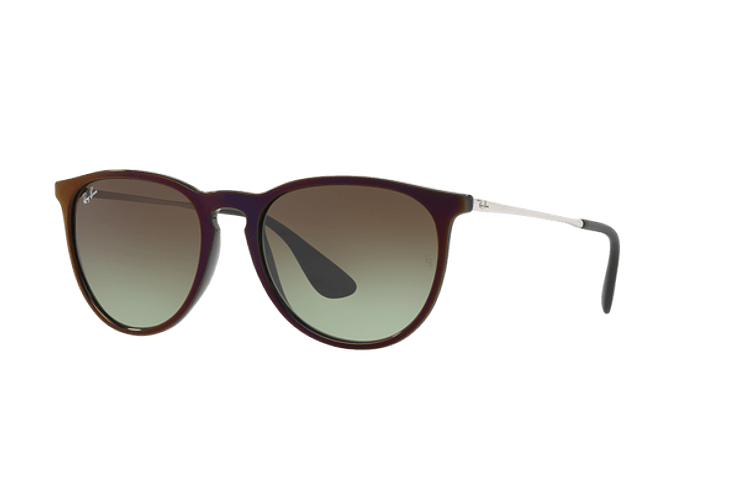 Ray Ban Erika Black / Red lente Green Gradient Brown cod. RB4171 6316E8 54 - Image 1