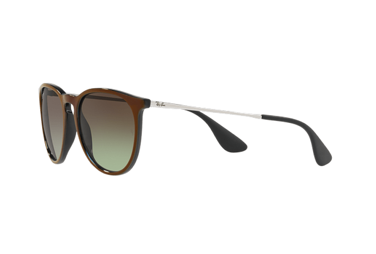 Ray Ban Erika Black / Red lente Green Gradient Brown cod. RB4171 6316E8 54 - Image 2