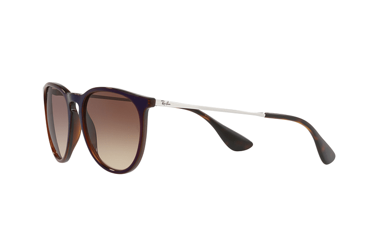Ray Ban Erika Brown / blue lente Dark Brown Gradient cod. RB4171 631513 54 - Image 2