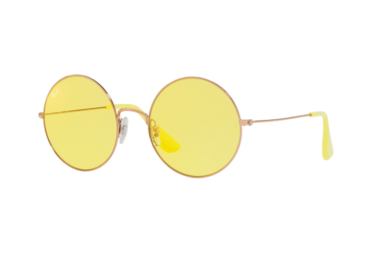 Ray Ban Ja-jo Round Shiny Copper lente Yellow Classic cod. RB3592 9035C9 55 - Image 1