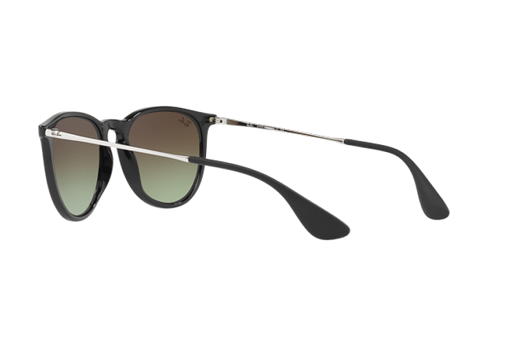 Ray-Ban Erika Black / Red lente Green Gradient Brown cod. RB4171 6316E8 54 - Image 4